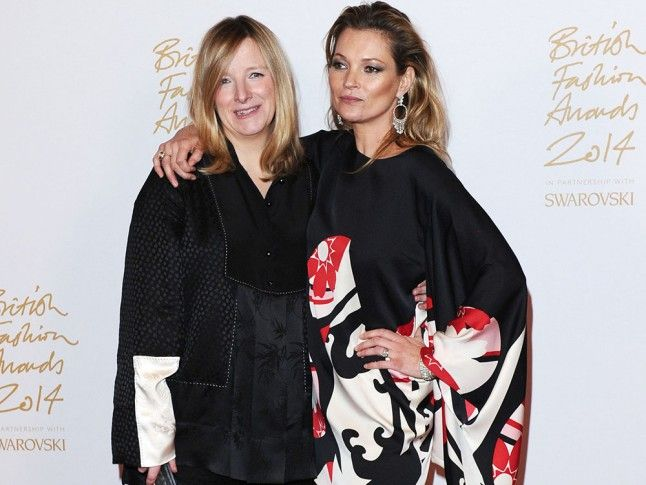 Fashion mum, Kate Moss featuring in Marie Cure online magazine for the Fashion Show 2016 line up.