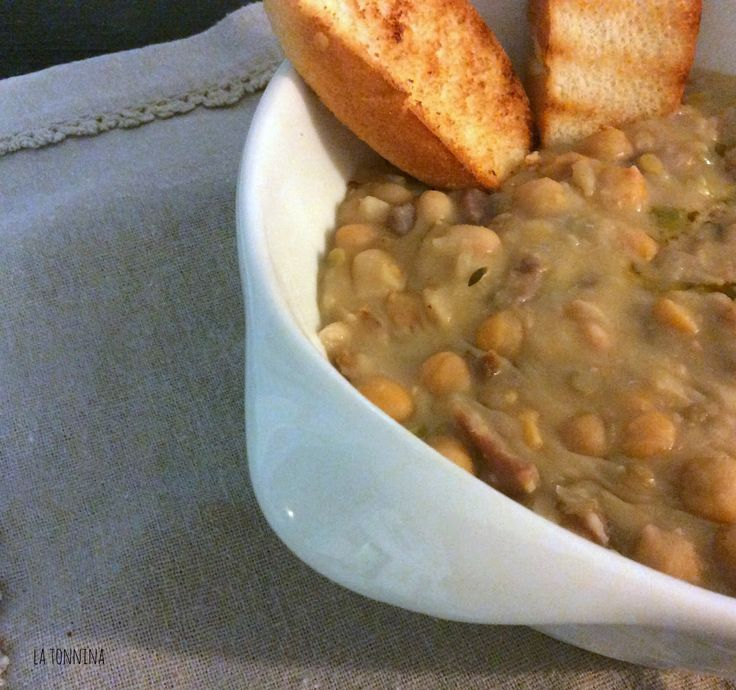{la tonnina in cucina} Zuppa di cereali e legumi