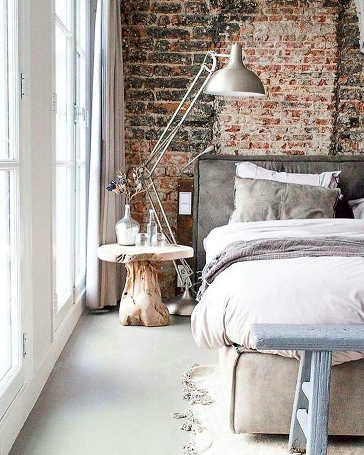 17 Best Ideas About Industrial Chic Bedrooms On Pinterest
