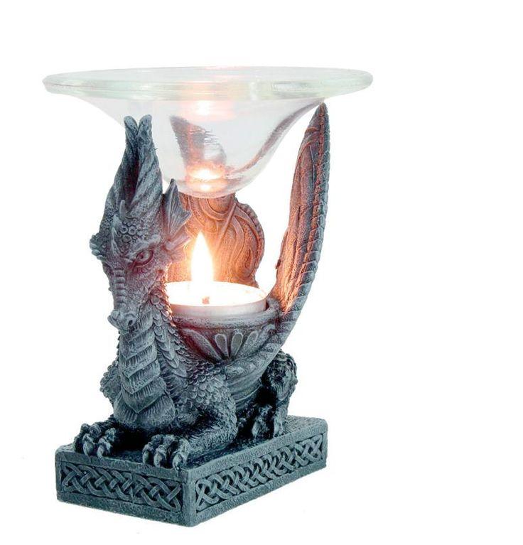 Rituální předměty a pomůcky | Aromalampy | Dračí aromalampa | Čarodějnický obchod