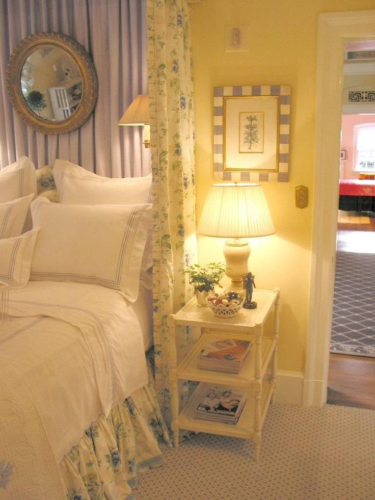 24 best Blue & Yellow Bedroom Ideas images on Pinterest | Bedrooms ...