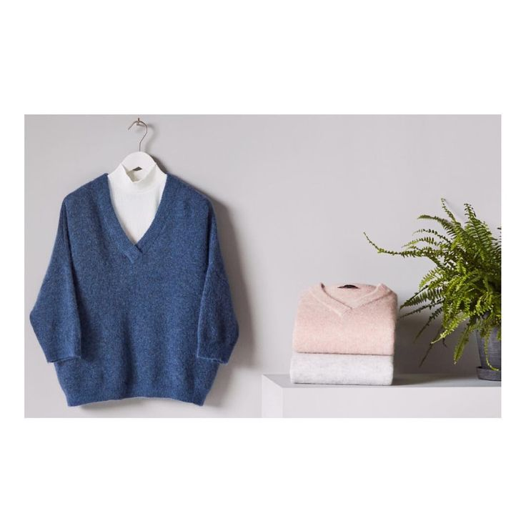 Warm knits, welcome! In our webshop now, at a special price. #selectedfemme