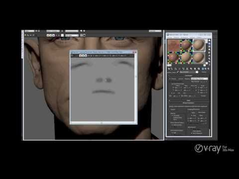 "Making of ""Portrait of Daniel Craig"" by Luc Bégin V-Ray for 3dsMax TutorialComputer Graphics & Digital Art Community for Artist: Job, Tutorial, Art, Concept Art, Portfolio"