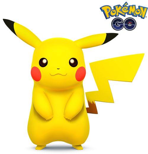 Pikachu 1 de Pokémon Go