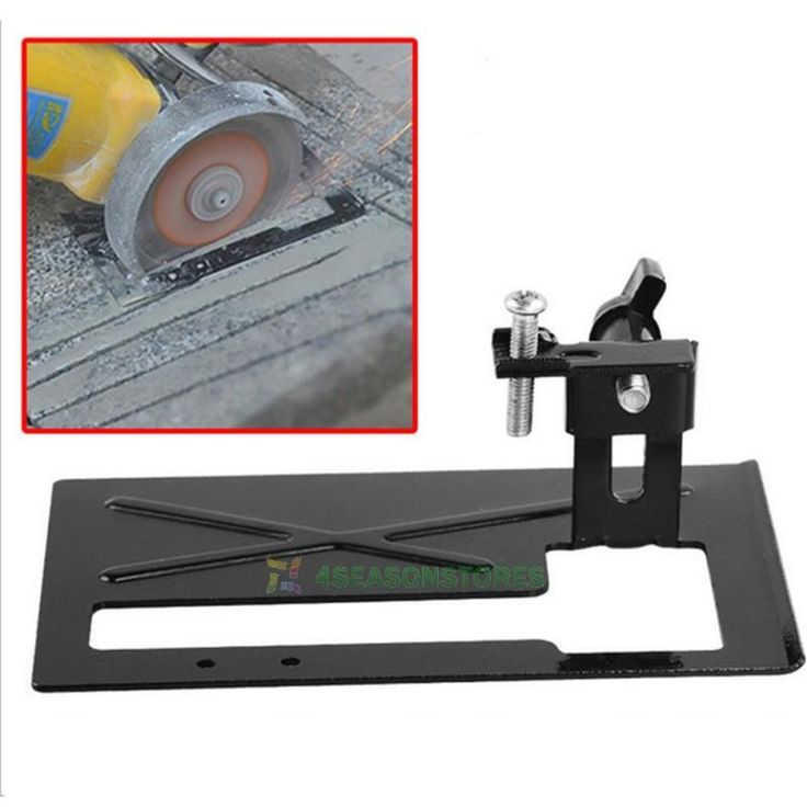 Wood Working Tool Angle Grinder Holder Cutting Conversion Tool Holder and PP bag