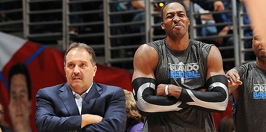 Stan Van Gundy vs Dwight Howard
