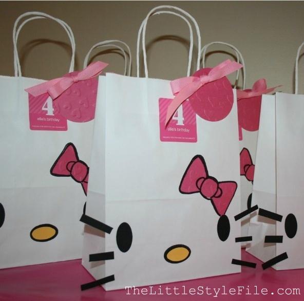 Hello Kitty DIY bags
