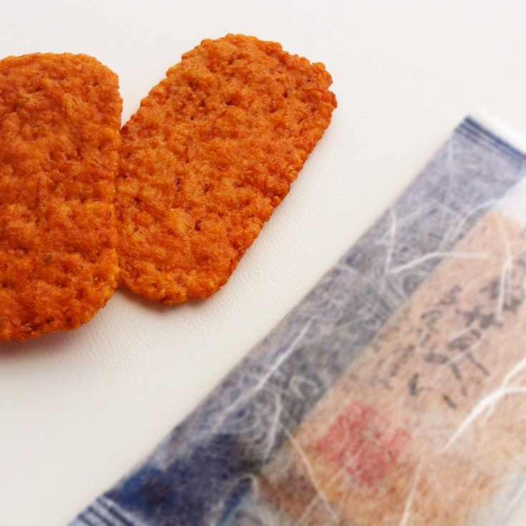 Tagane-senbei  ( Japanese rice crackers )  Photo by Hideki.Tazawa
