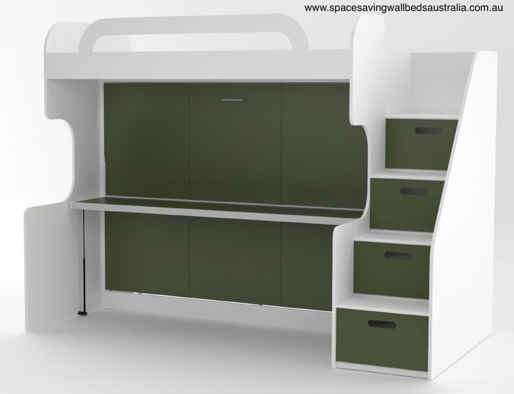 The Deluxe Teen Bunk Wall Bed