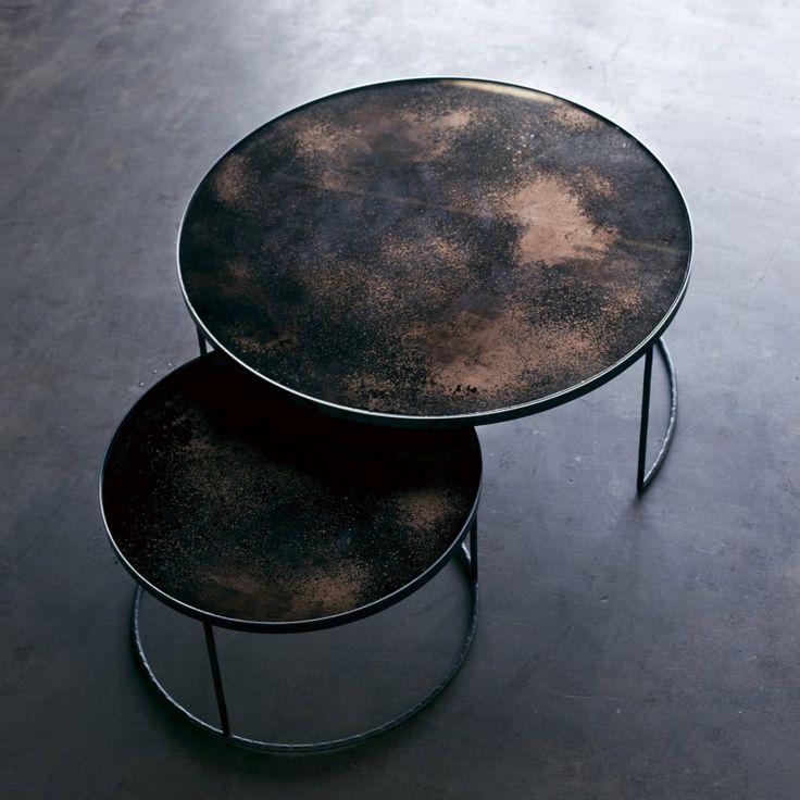 17 meilleures id es propos de tables gigognes sur pinterest tables basses en marbre tables. Black Bedroom Furniture Sets. Home Design Ideas