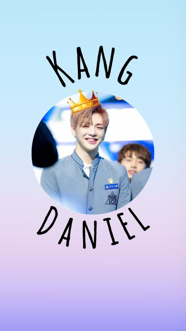 강 다니엘 와나원 Kang Daniel Wanna One wallpaper