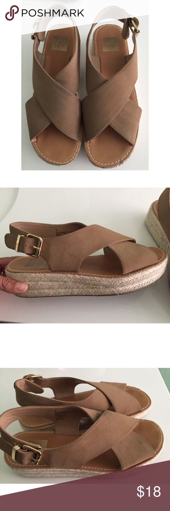 DOLCE VITA Donna Espadrilles 8 beige tan Target Super cute, lightly worn! Perfect for spring/summer from the target collab DV by Dolce Vita Shoes