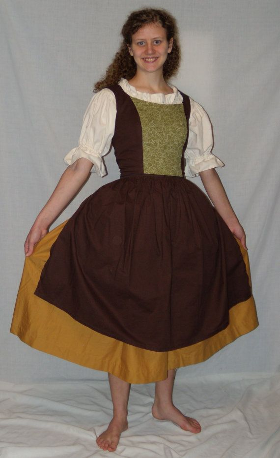 Hobbit Outfit / Costume for Ladies and by StitchinThroughTime, $185.00