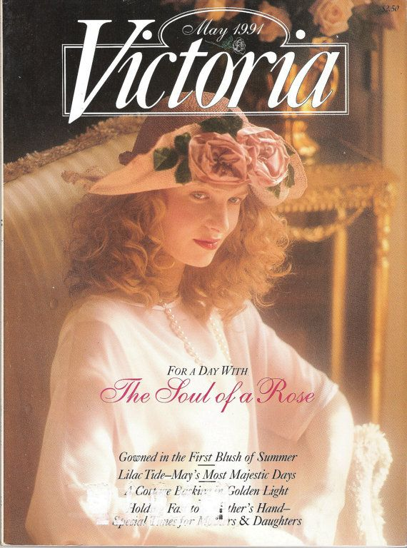 Vintage Victoria Magazine For a Day With The Soul by CFoleysShop, $5.00