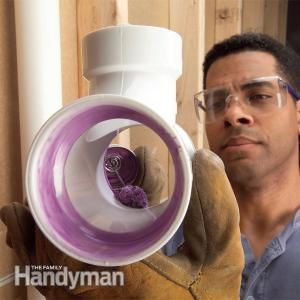 Glue and join PVC plastic pipe: learn the secrets to fast, leak-proof connections.