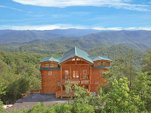 17 best images about home theater room pigeon forge for Best mountain view cabins in gatlinburg tn
