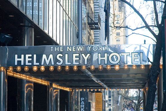 The New York Helmsley Hotel. Has been purchased by Westin.  The Westin is open.  Perfect location, on 42nd Street close to Grand Central Station. Walk directly to the elevator and proceed to clean 3rd floor bathrooms.