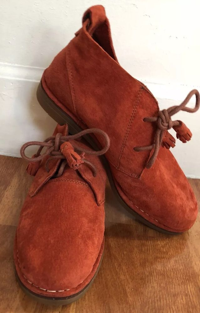 Hush Puppies Women Burnt Orange The Collection Kustomized New No Box Size 6 Ebay Hush Puppies Shoes Shoes Hush Puppies Women