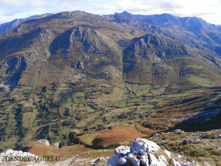 Aciera, Sierra de Caranga, Proaza, in december, Asturias
