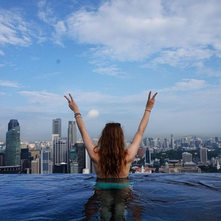 """The Ultimate Singapore Infinity Pool at Marina Bay Sands - 63 Likes, 1 Comments - Sarah  (@rangaadventures) on Instagram: """"Bucket List Item: Stay at the Marina Bay Sands Hotel in Singapore and swim in the famous infinity…"""""""