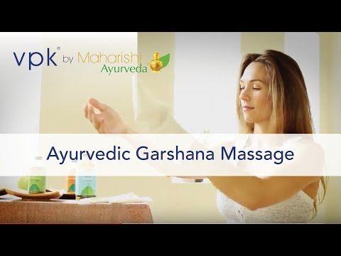 Ayurvedic Garshana Massage How-To Dry-Brush by vpk by Maharishi Ayurveda via YouTube