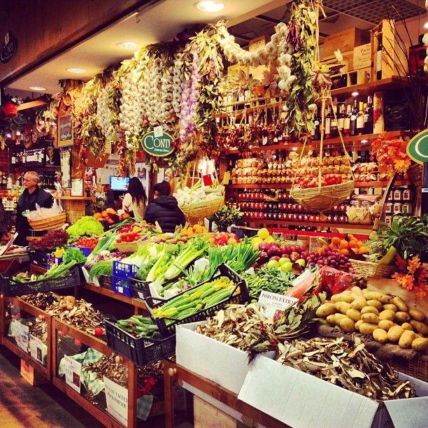 Mercato Centrale in Firenze, Toscana