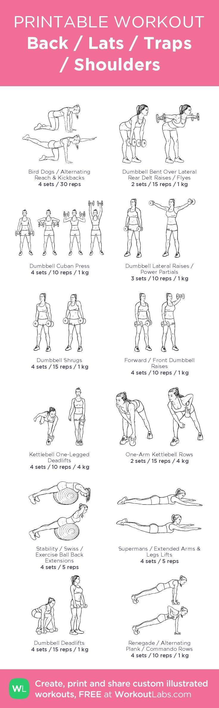 cool Back / Lats / Traps / Shoulders