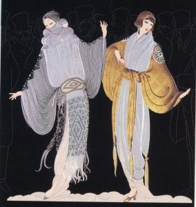 "Rena Tsan The way i do: ""Erte"" The wizard of Fashion designing and illustration!!!!!"