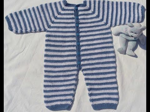mameluco a crochet o ganchillo fácil y rápido - YouTube