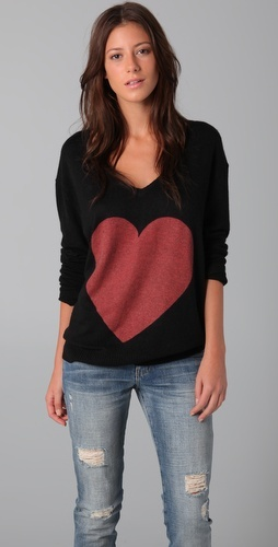 all time fave sweater- wear in the winter and with cut offs on cool summer nights