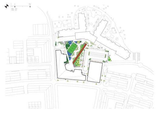 Kollaskolan School,Site Plan