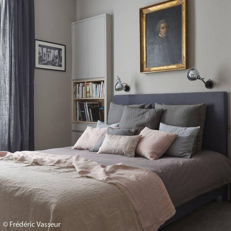 Les 25 meilleures id es de la cat gorie chambres roses sur for Chambre rose et gris