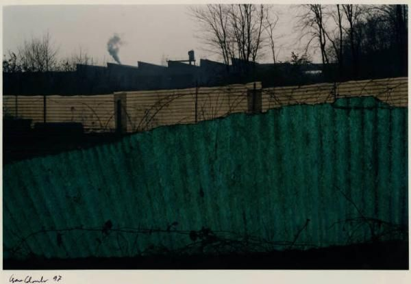 Cesare Colombo: Arcore - cascina Franceschetti - fabbrica PEG - steccati in vetroresina | Archivio dello Spazio