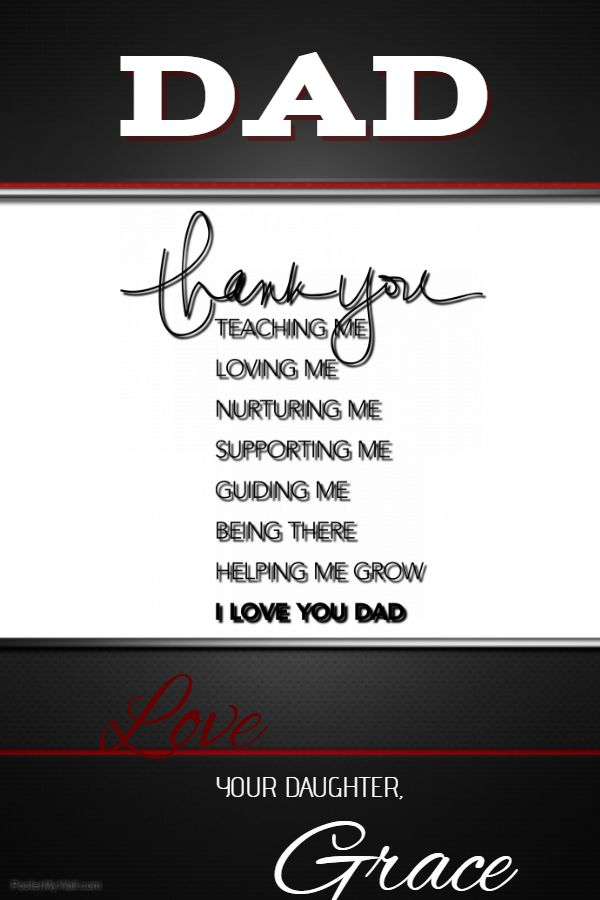 34 Best Fathers Day Poster Templates Images On Pinterest