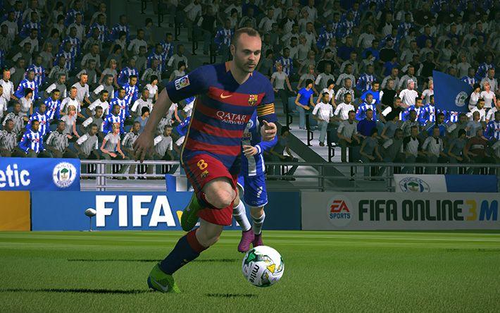 FIFA Online 3: Hướng dẫn Rê bóng đỉnh cao với EC, C, Q