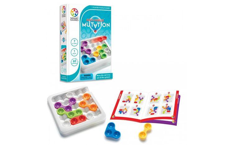 Antivírus mutáció logikai játék 7 éves kortól - SmartGames