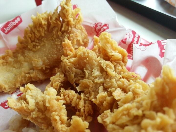 Jollibee crispy chicken strips!