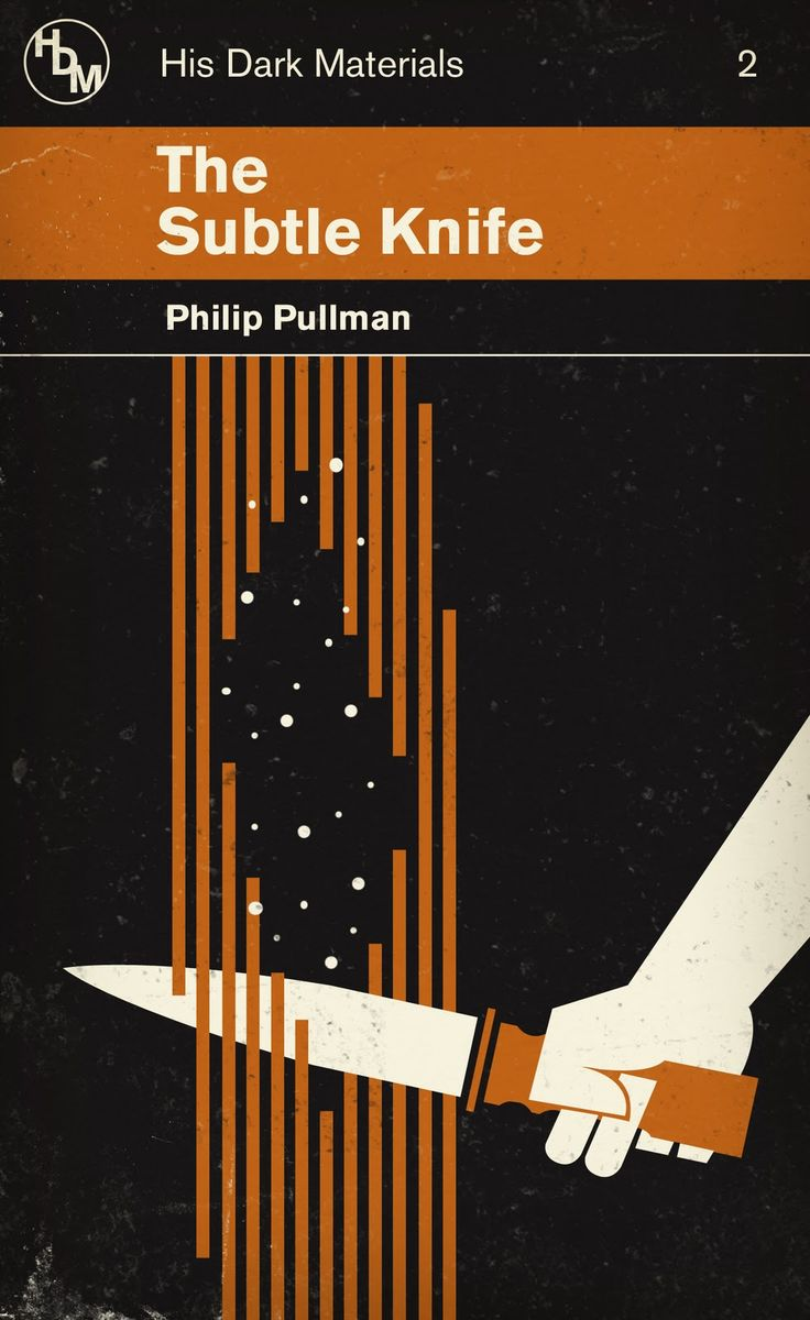 The Art of M. S. Corley: His Dark Materials by Phi;ip Pullman Redesigns. The Subtle Knife.