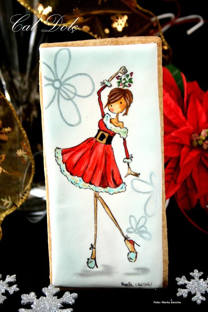 Christmas Girl By Marta Sancho https://www.facebook.com/pages...49?ref_type=bookmark