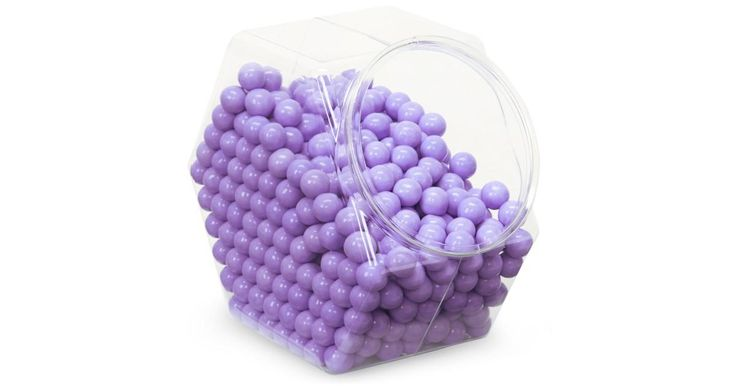 I found this great Birthday Party idea on BirthdayExpress.com. Shimmer Lavender Sixlets Candy, Birthday Express helps create memories that last a lifetime - click here to start the fun!