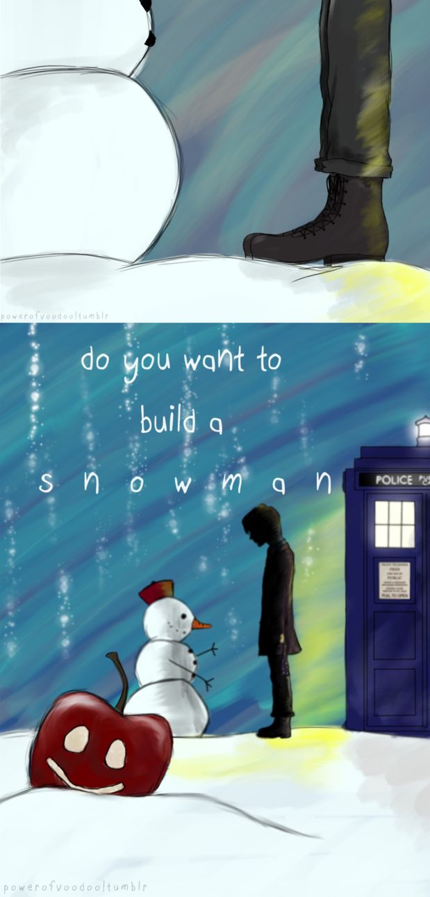 Frozen // Doctor Who Crossover by Luxris