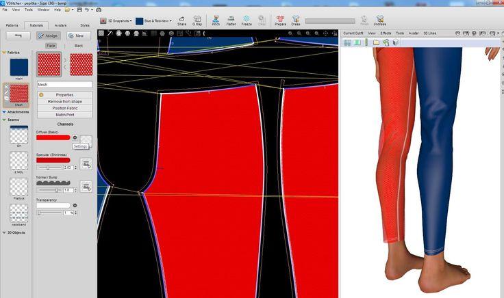 projektowanie 3d fashion