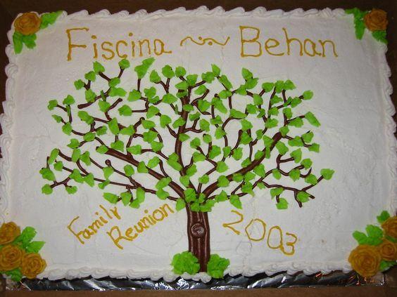 Family reunion cake recipes