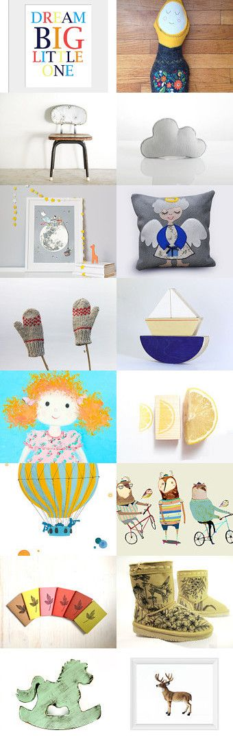 Dream Big Little One  by Elinor Levin on Etsy--Pinned with TreasuryPin.com
