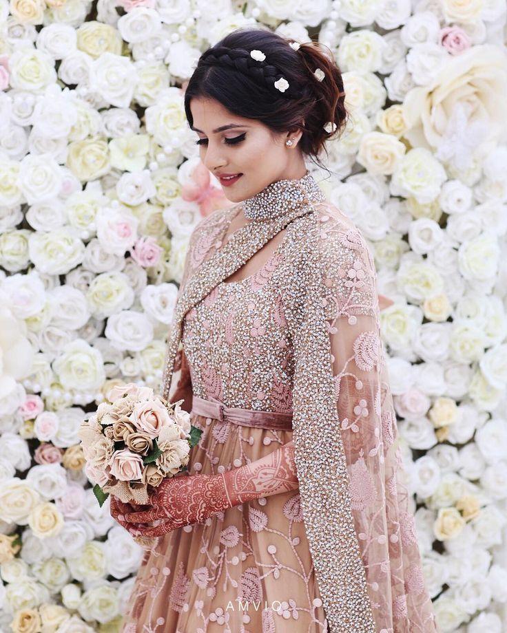 Pakistani Bride | Beautiful Capture | Spring Vibes | Perfect Pink Bridal Dress | Photography by Amvio