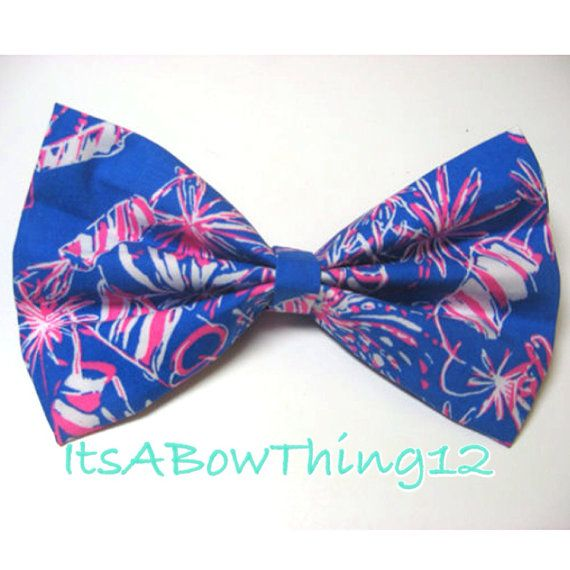 Lilly Pulitzer Cherry Bomb by ItsABowThing12 on Etsy, $6.50