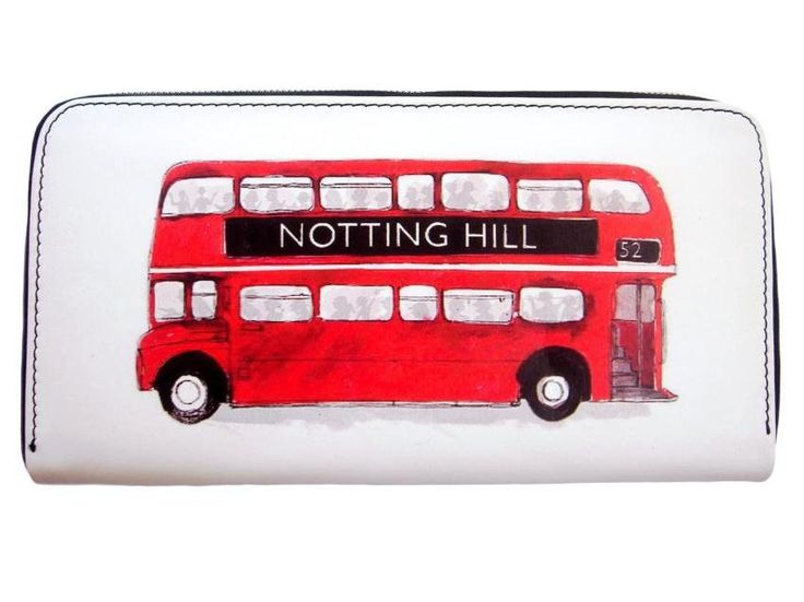 London Transport Routemaster Icon Double Decker Retro Bus Card ID Holder Wallet Puse
