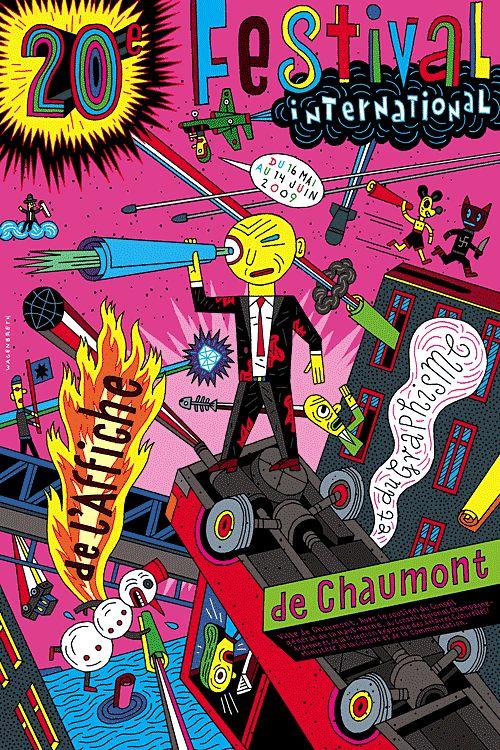 Chaumont petit – Plakat – Wagenbreth