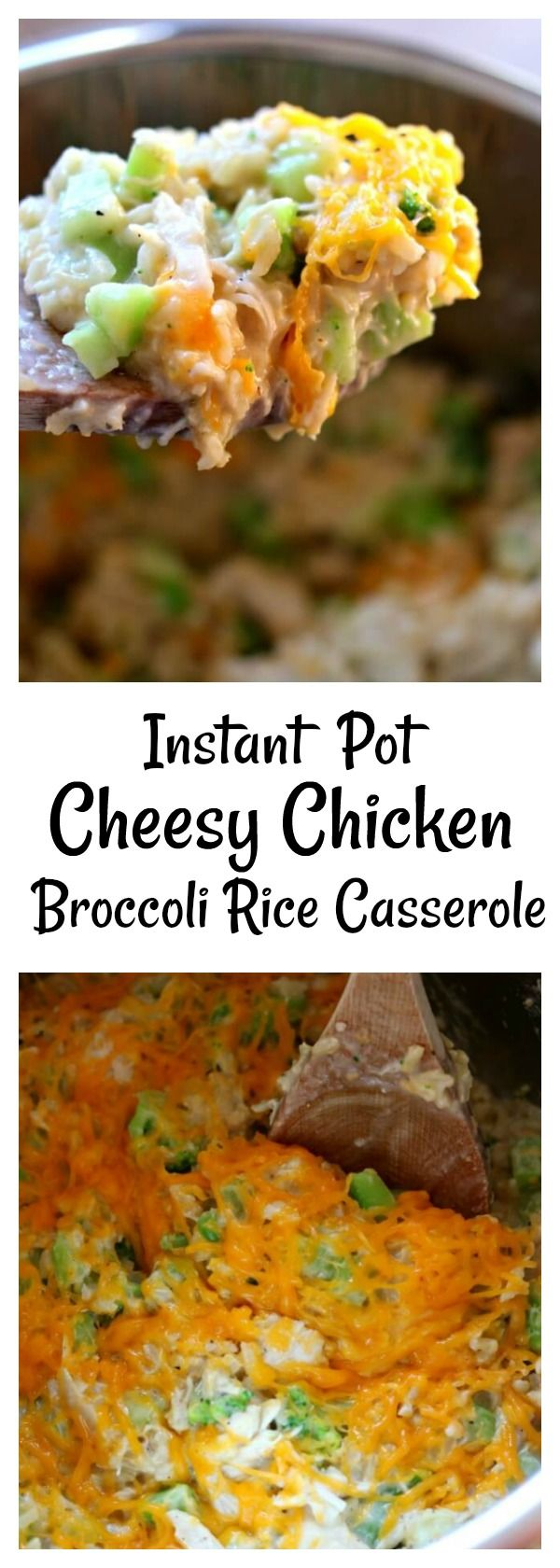 Instant Pot Cheesy Chicken Broccoli Rice Casserole -2354
