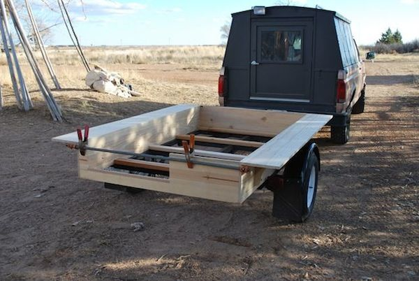 How to Build a Gypsy Wagon: Step by Step Instructions--a great Instructable and a beautiful Vardo trailer. Inspires one to quit the day job, get busy with a saw, hammer, etc. and take to the open road.